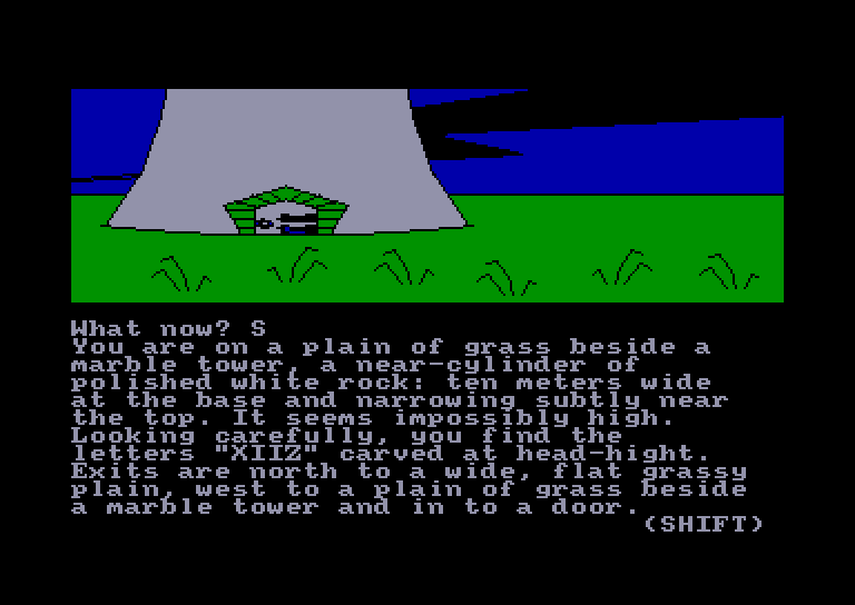screenshot of the Amstrad CPC game Red Moon by GameBase CPC