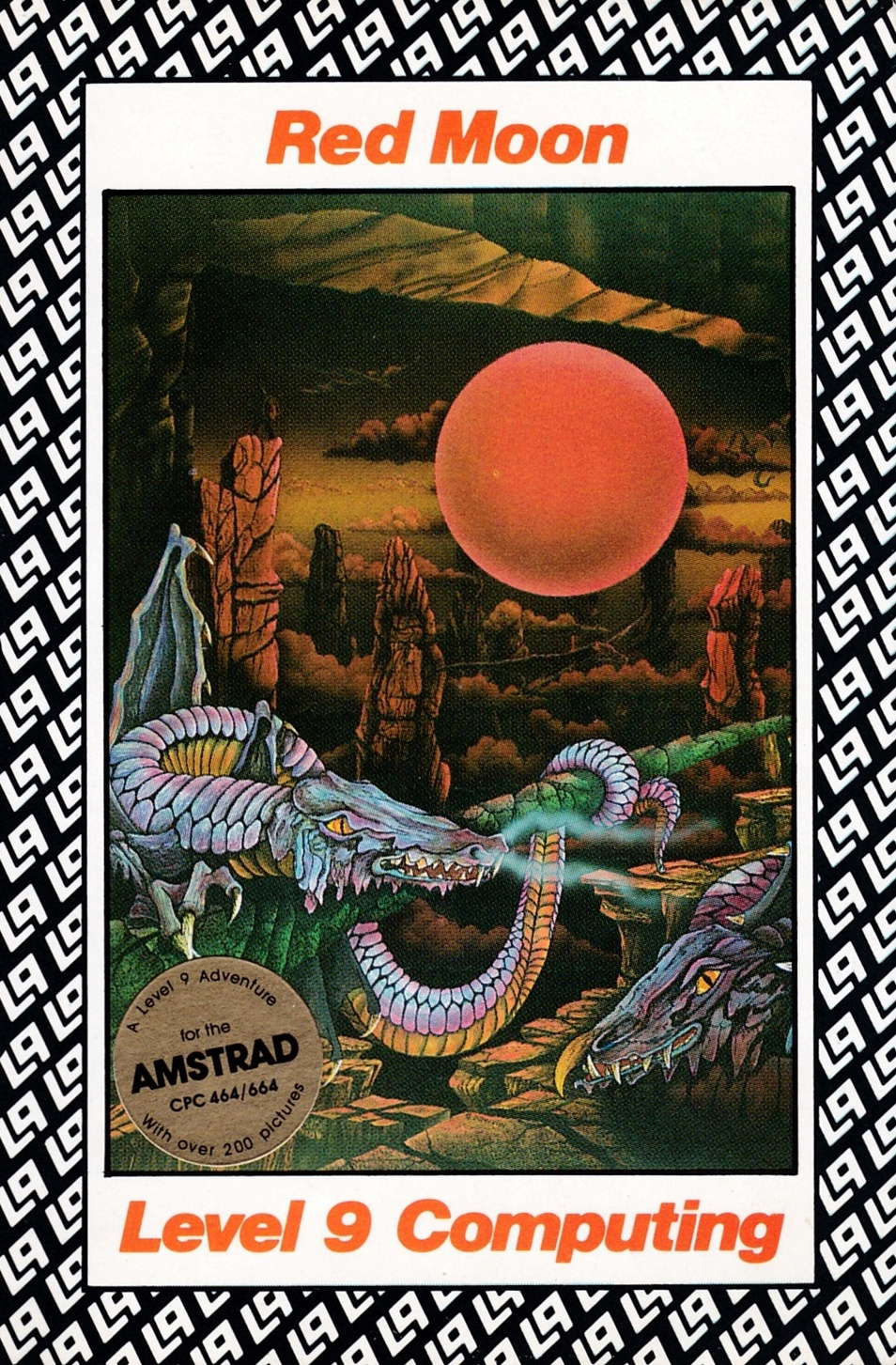 cover of the Amstrad CPC game Red Moon  by GameBase CPC