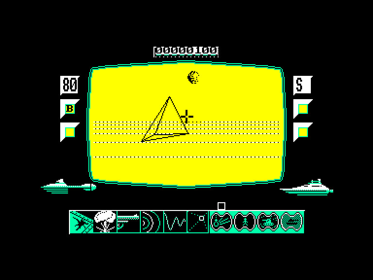 screenshot of the Amstrad CPC game Red scorpion by GameBase CPC