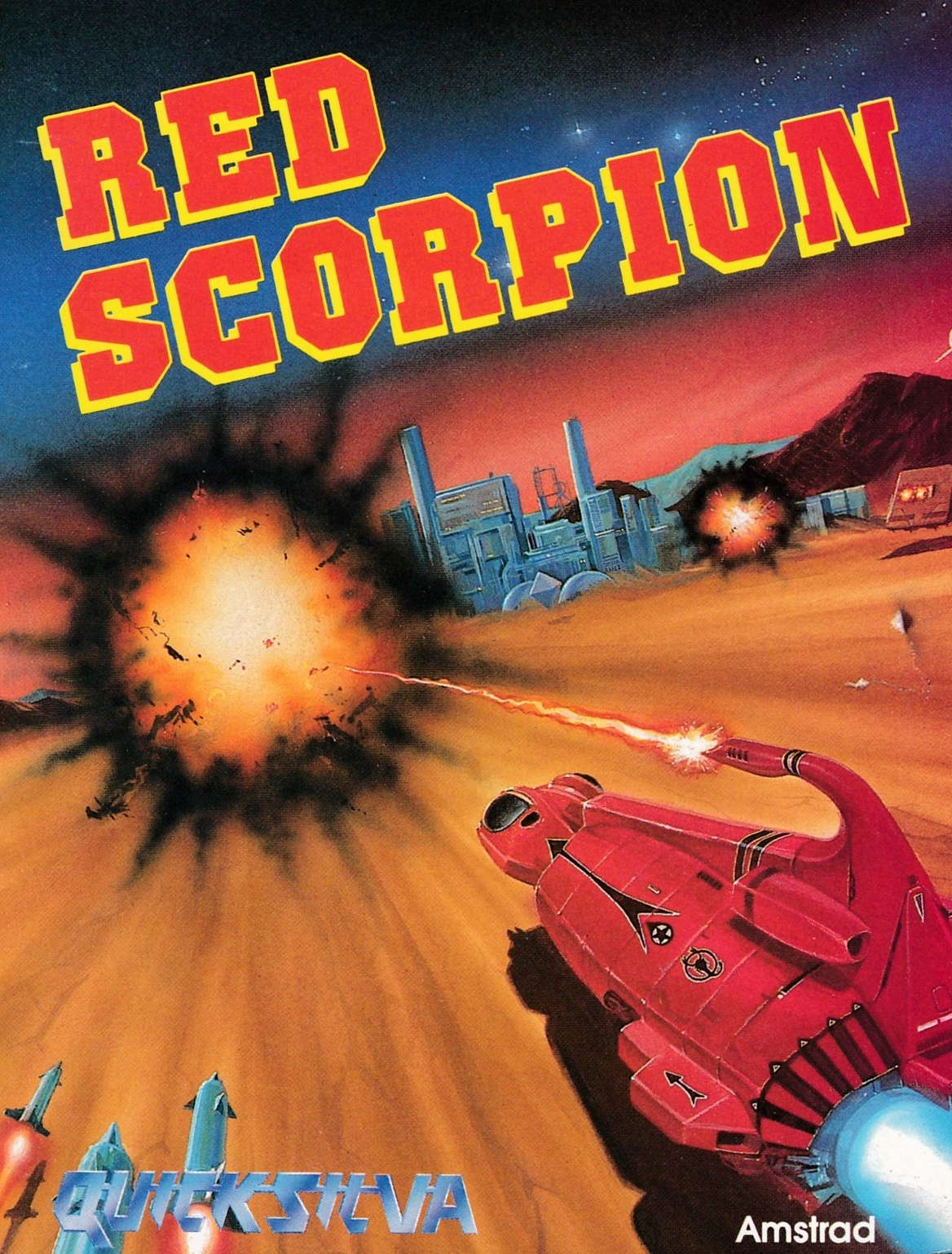 cover of the Amstrad CPC game Red Scorpion  by GameBase CPC