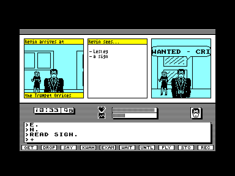 screenshot of the Amstrad CPC game Redhawk by GameBase CPC
