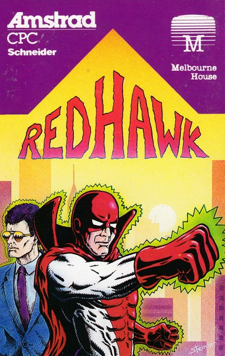cover of the Amstrad CPC game Redhawk  by GameBase CPC