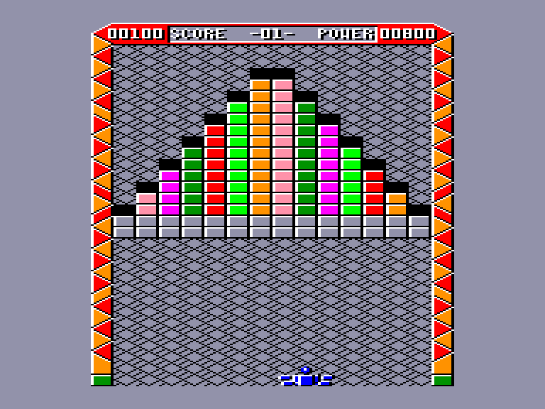 screenshot of the Amstrad CPC game Reflex by GameBase CPC