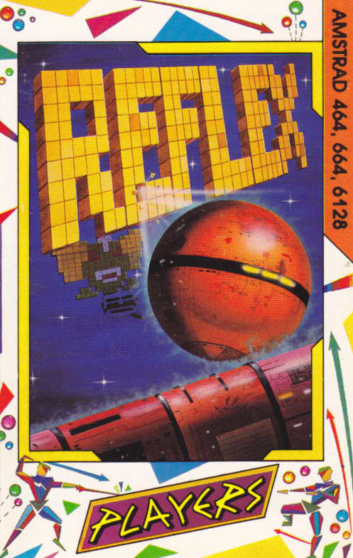 cover of the Amstrad CPC game Reflex  by GameBase CPC