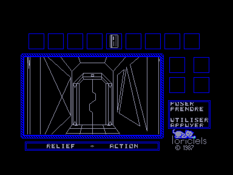 screenshot of the Amstrad CPC game Relief Action by GameBase CPC