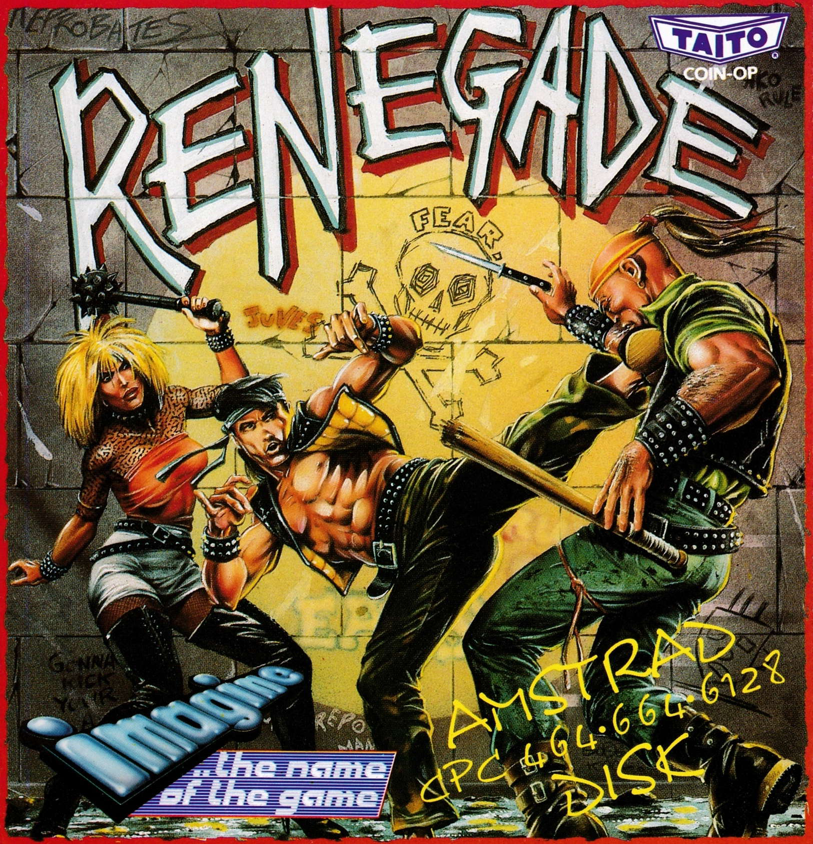 cover of the Amstrad CPC game Renegade  by GameBase CPC