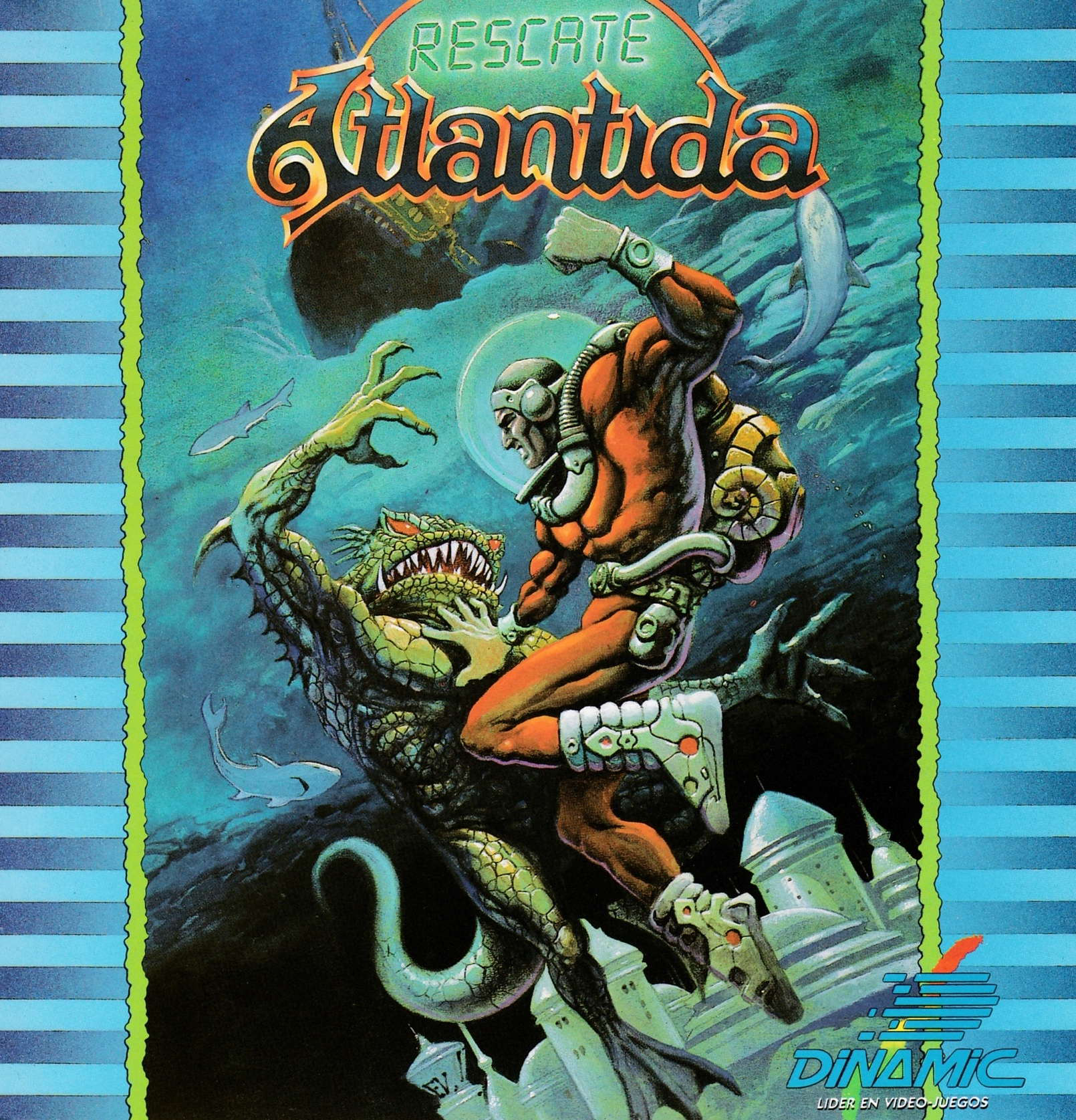 cover of the Amstrad CPC game Rescate Atlantida  by GameBase CPC