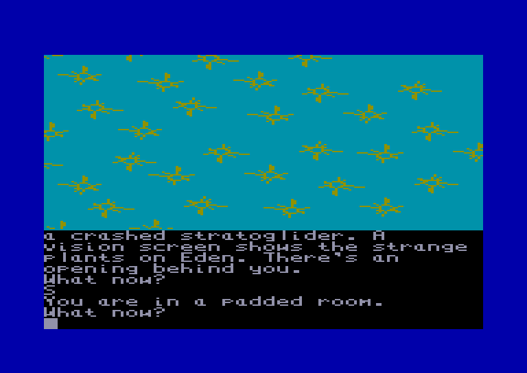 screenshot of the Amstrad CPC game Return to eden by GameBase CPC