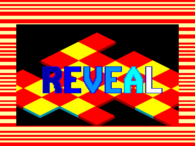 screenshot of the Amstrad CPC game Reveal by GameBase CPC