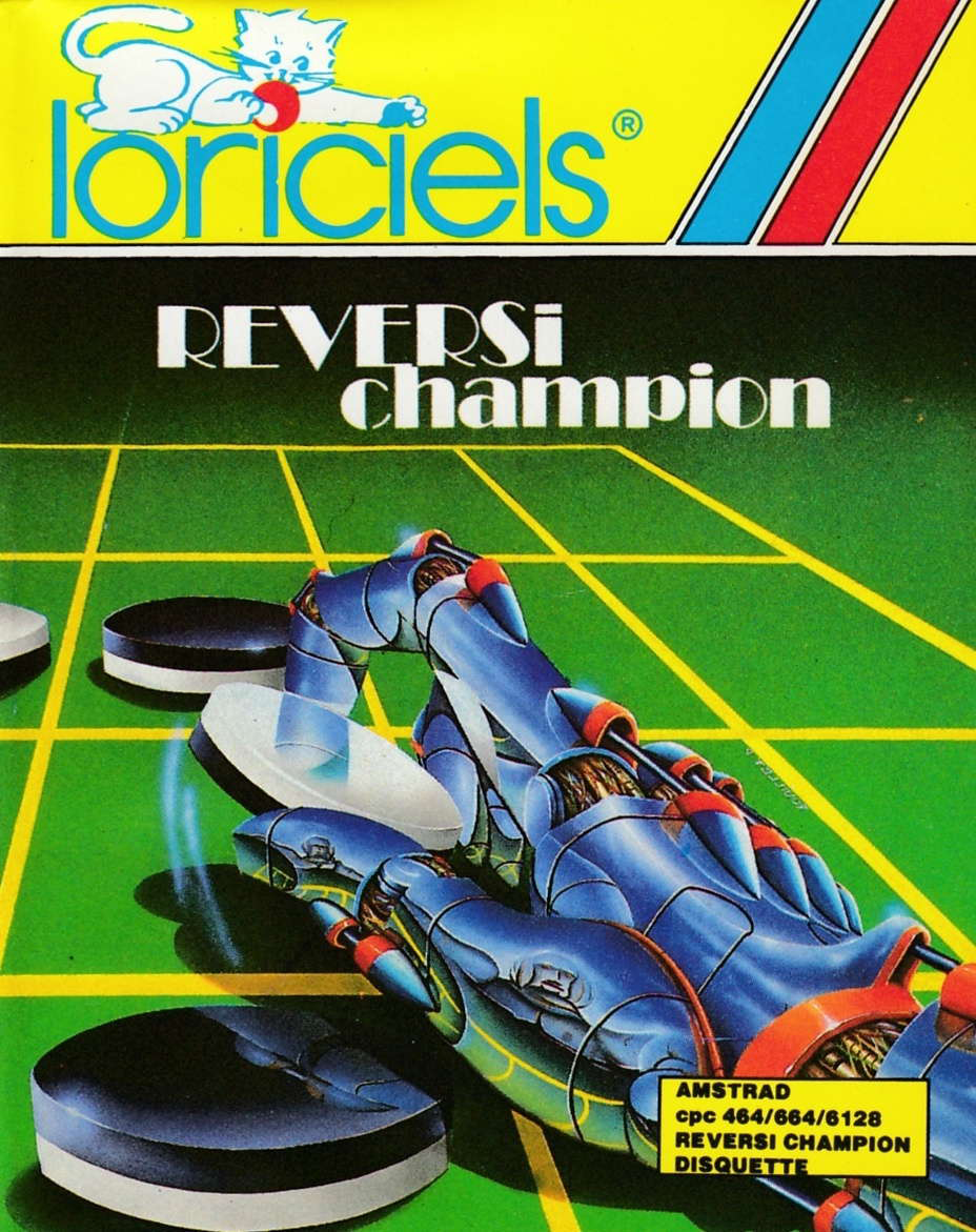 cover of the Amstrad CPC game Reversi Champion  by GameBase CPC