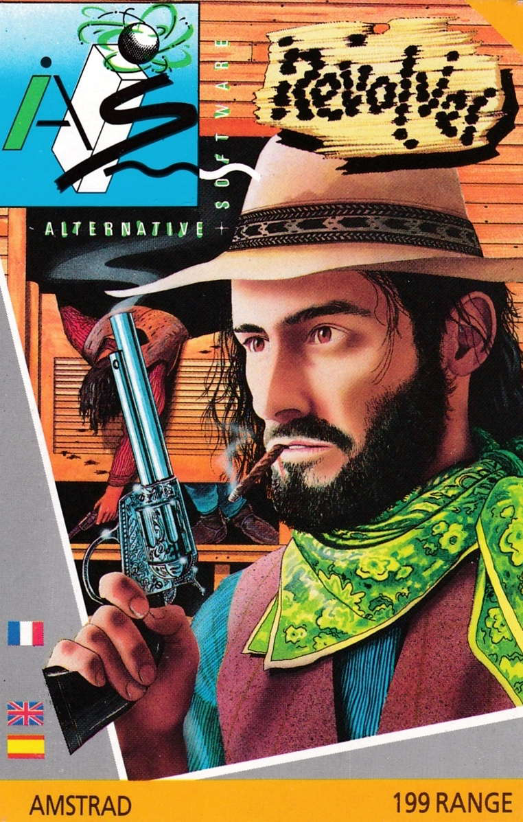 cover of the Amstrad CPC game Revolver  by GameBase CPC