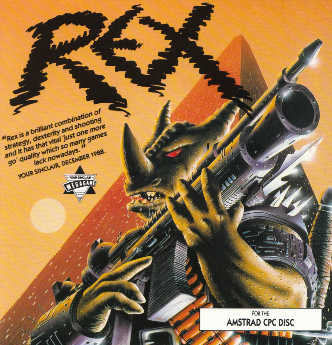 cover of the Amstrad CPC game Rex  by GameBase CPC
