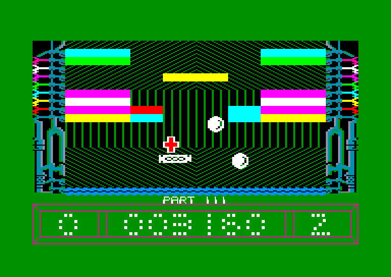 screenshot of the Amstrad CPC game Ricochet (Blaby) by GameBase CPC