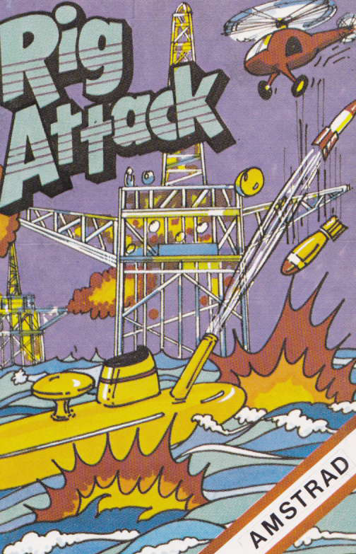 screenshot of the Amstrad CPC game Rig attack by GameBase CPC