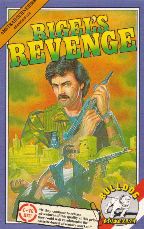 screenshot of the Amstrad CPC game Rigel's revenge by GameBase CPC