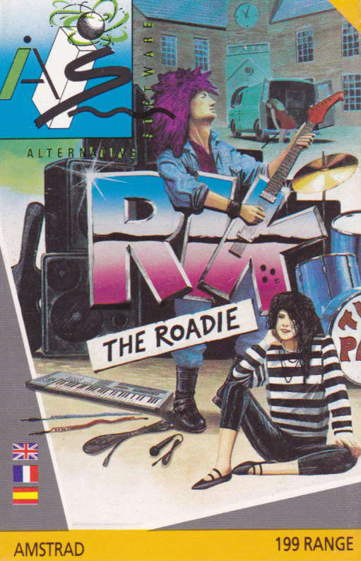 screenshot of the Amstrad CPC game Rik the Roadie by GameBase CPC