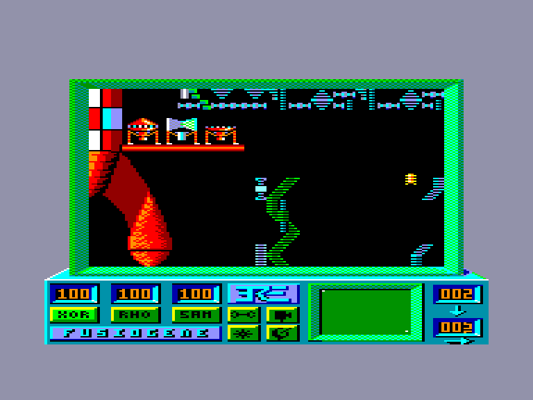 screenshot of the Amstrad CPC game Robbbot by GameBase CPC