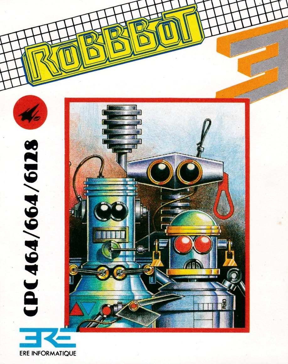 cover of the Amstrad CPC game Robbbot  by GameBase CPC