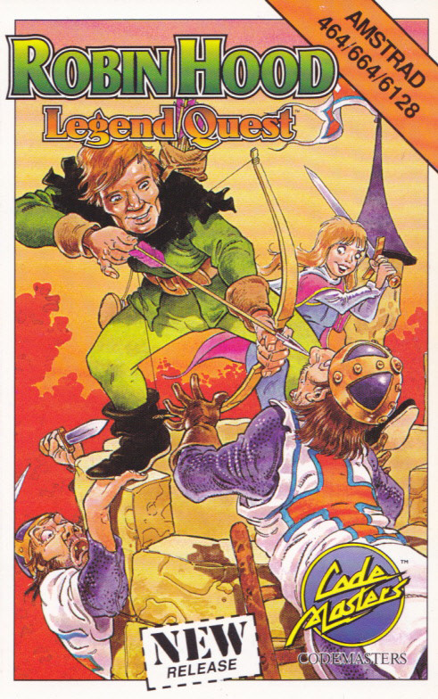 screenshot of the Amstrad CPC game Robin Hood - Legend Quest by GameBase CPC