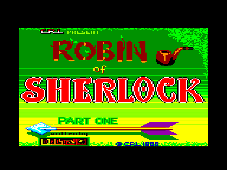 screenshot of the Amstrad CPC game Robin of sherlock by GameBase CPC