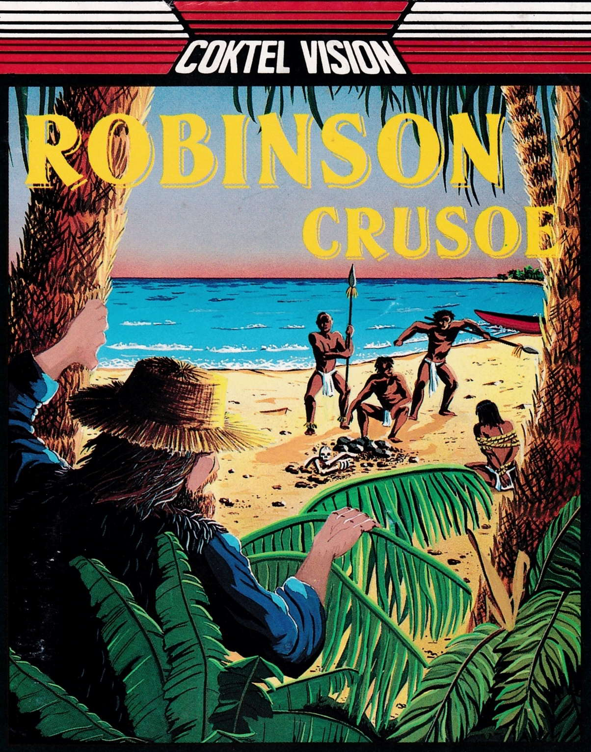 cover of the Amstrad CPC game Robinson Crusoe  by GameBase CPC