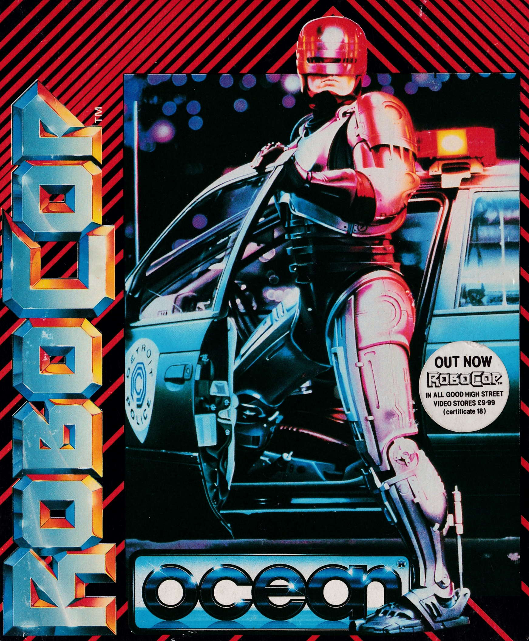 cover of the Amstrad CPC game Robocop  by GameBase CPC