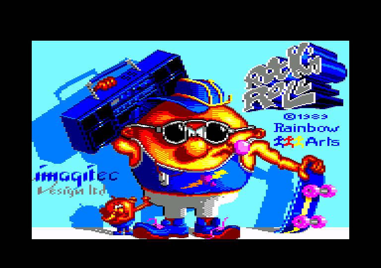 screenshot of the Amstrad CPC game Rock 'n roll by GameBase CPC