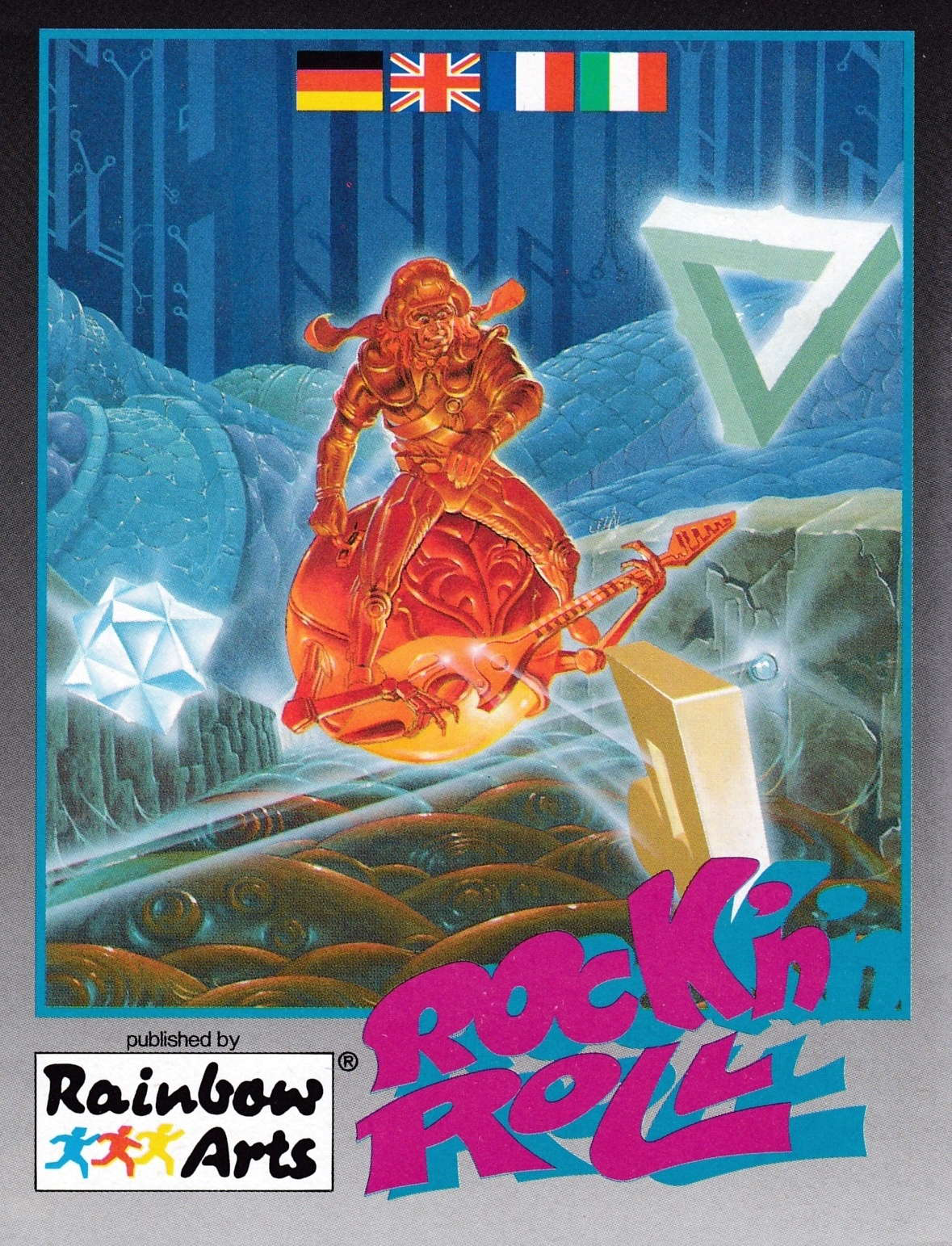 cover of the Amstrad CPC game Rock 'n Roll  by GameBase CPC