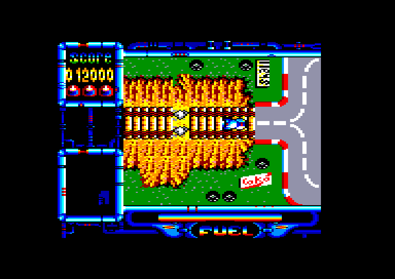 screenshot of the Amstrad CPC game Rock and roller by GameBase CPC