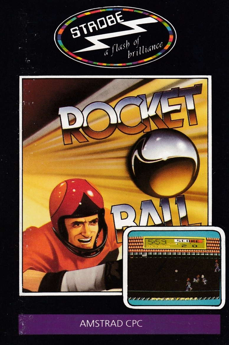 cover of the Amstrad CPC game Rocket Ball  by GameBase CPC