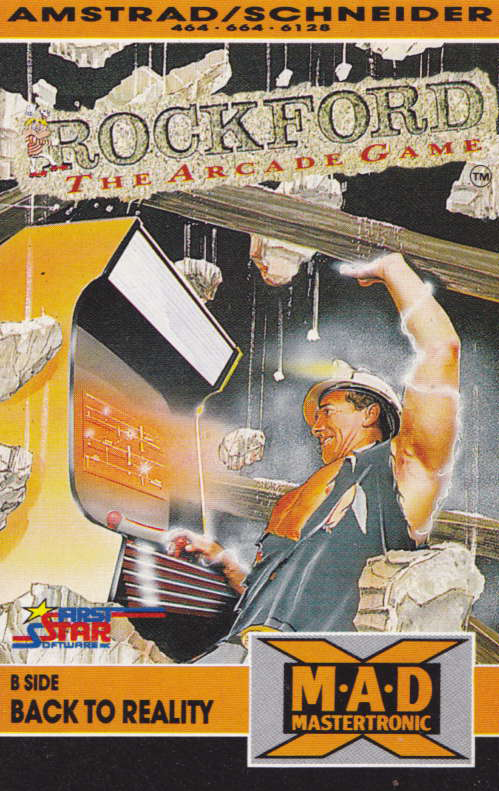 cover of the Amstrad CPC game Rockford  by GameBase CPC