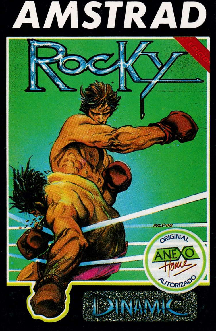 cover of the Amstrad CPC game Rocky  by GameBase CPC