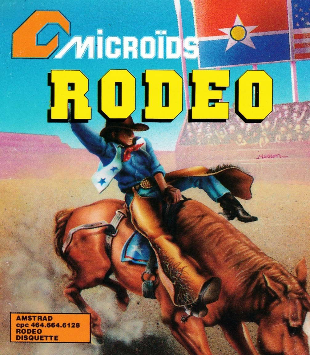 cover of the Amstrad CPC game Rodeo  by GameBase CPC