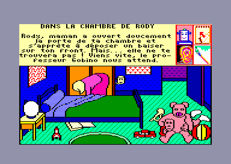 screenshot of the Amstrad CPC game Rody & Mastico by GameBase CPC