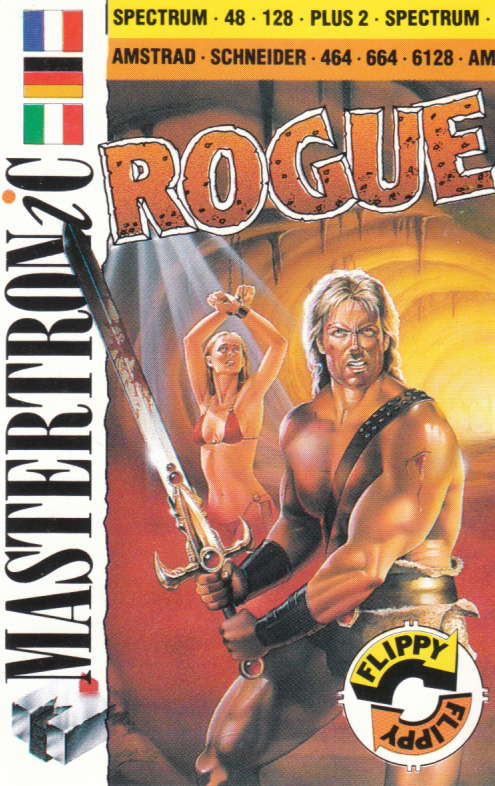 cover of the Amstrad CPC game Rogue  by GameBase CPC