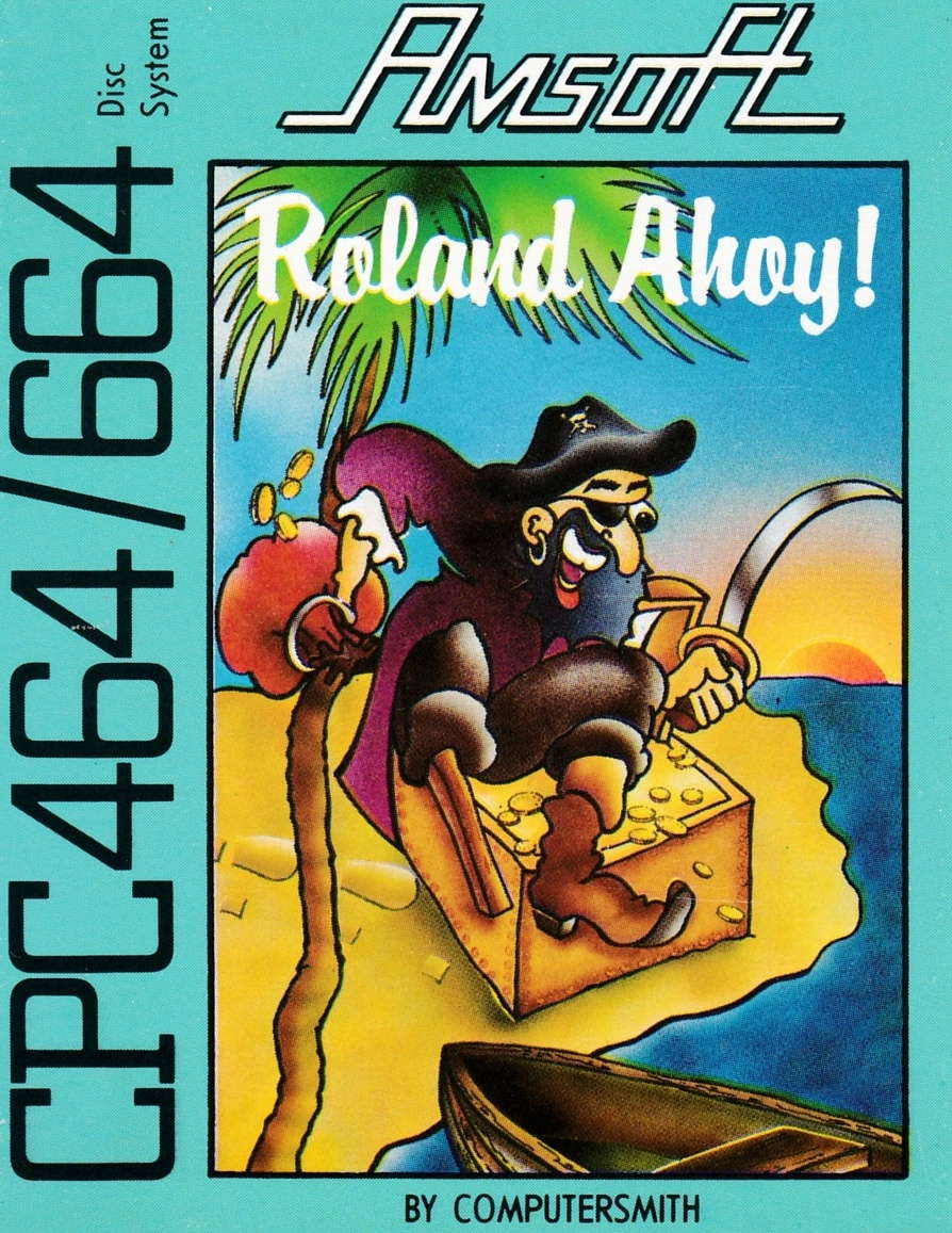 screenshot of the Amstrad CPC game Roland Ahoy ! by GameBase CPC