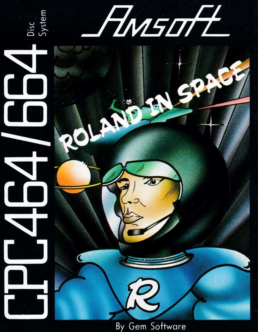 screenshot of the Amstrad CPC game Roland in space by GameBase CPC