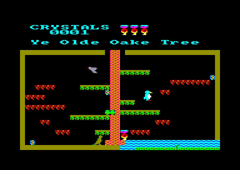 screenshot of the Amstrad CPC game Roland in time by GameBase CPC