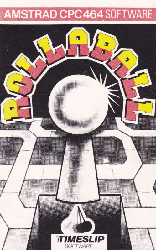 screenshot of the Amstrad CPC game Rollaball by GameBase CPC
