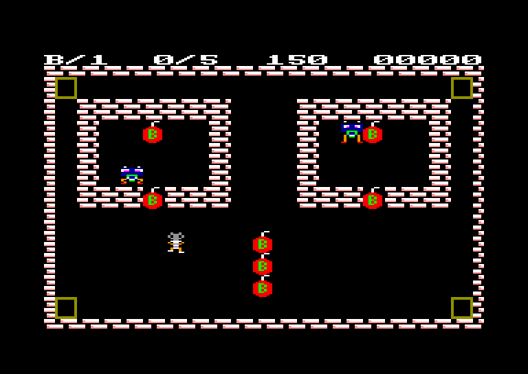screenshot of the Amstrad CPC game Rolling stones by GameBase CPC