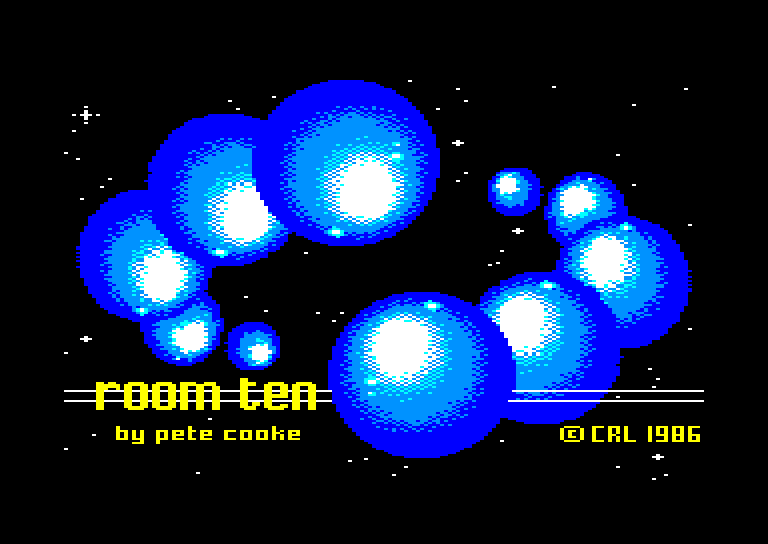 screenshot of the Amstrad CPC game Room ten by GameBase CPC