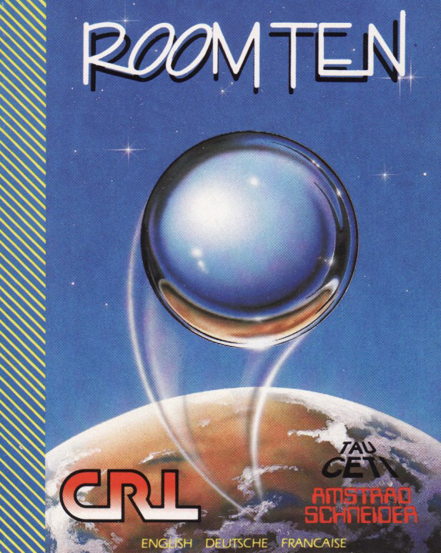 cover of the Amstrad CPC game Room Ten  by GameBase CPC