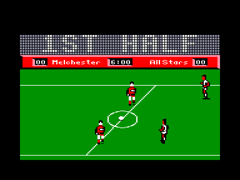 screenshot of the Amstrad CPC game Roy of the rovers by GameBase CPC