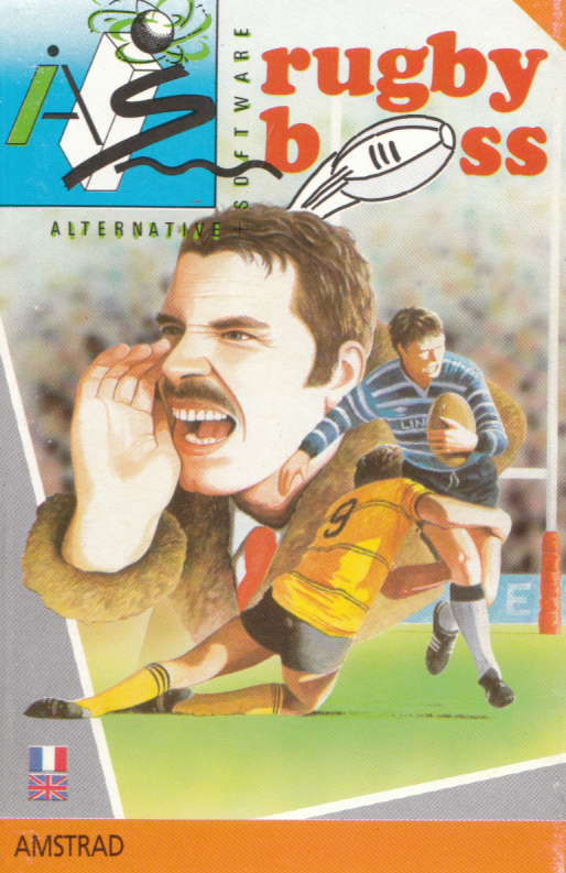 screenshot of the Amstrad CPC game Rugby boss by GameBase CPC