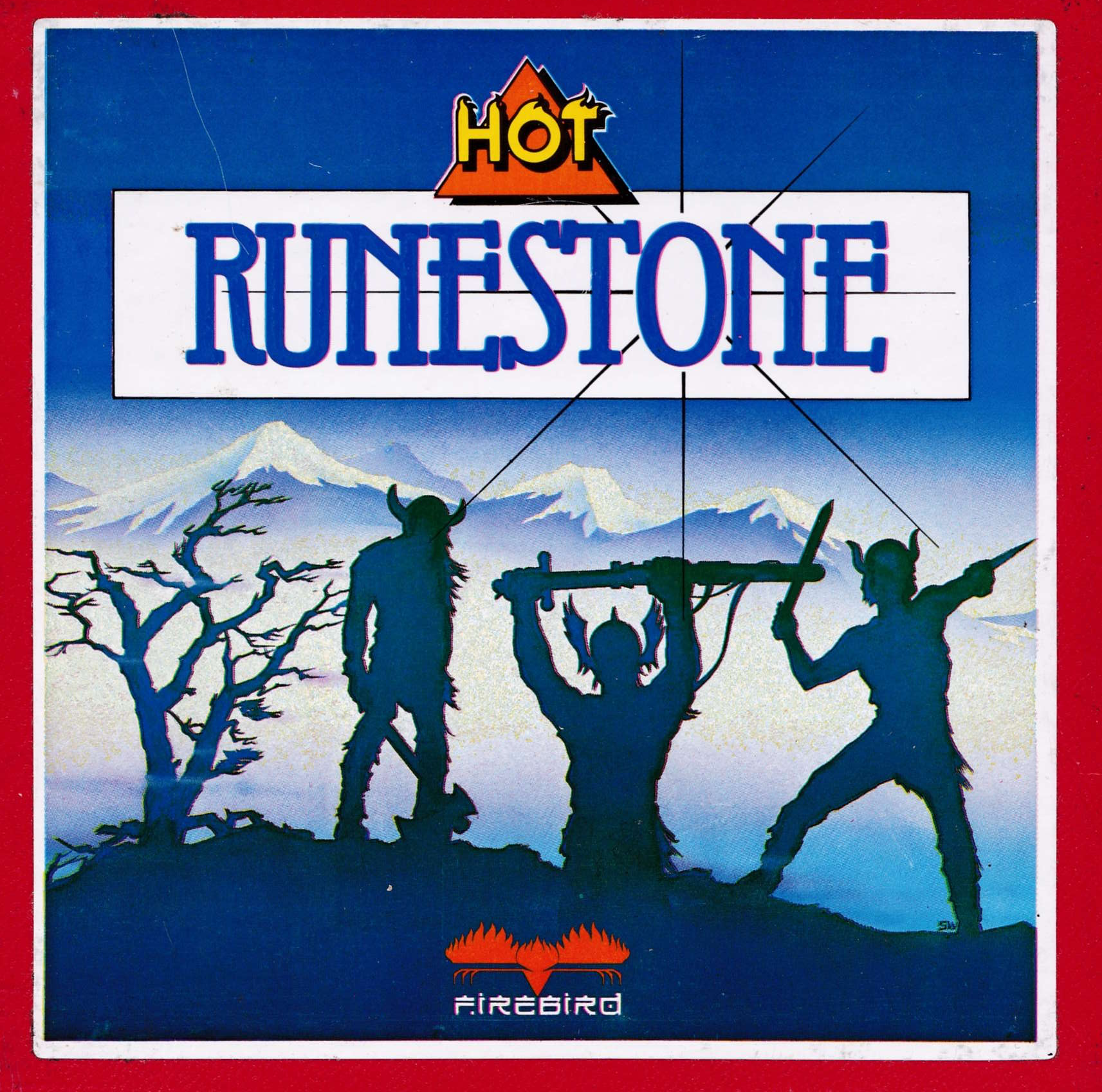 screenshot of the Amstrad CPC game Runestone by GameBase CPC