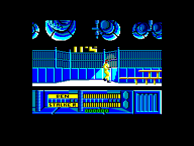 screenshot of the Amstrad CPC game Running Man (the) by GameBase CPC