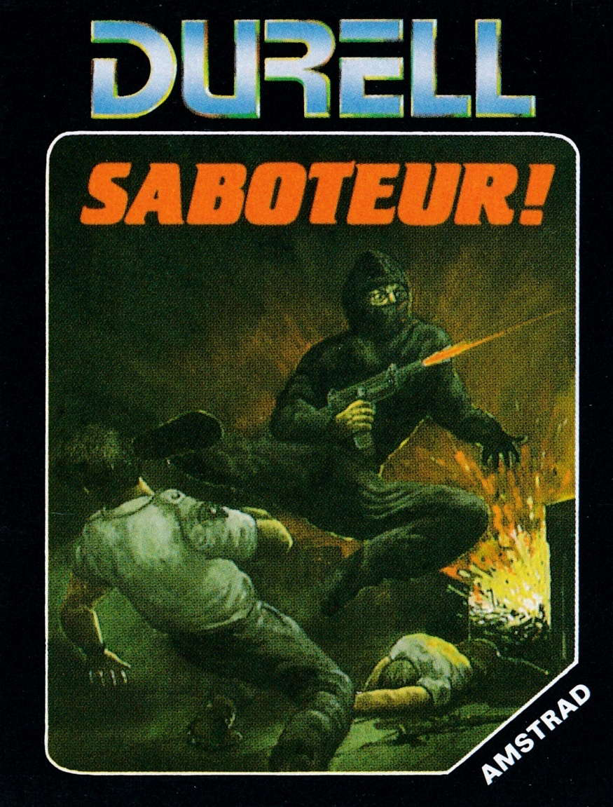 cover of the Amstrad CPC game Saboteur  by GameBase CPC