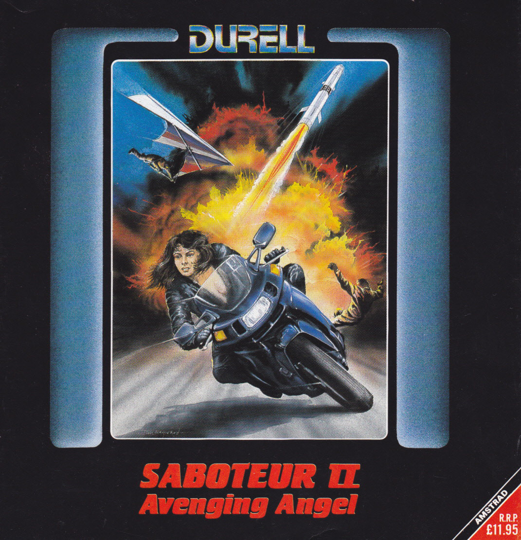 cover of the Amstrad CPC game Saboteur II  by GameBase CPC