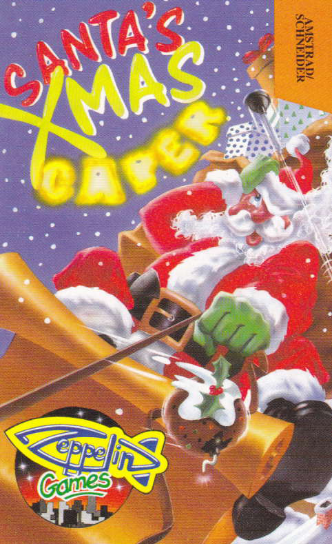 cover of the Amstrad CPC game Santa's Christmas Capers  by GameBase CPC
