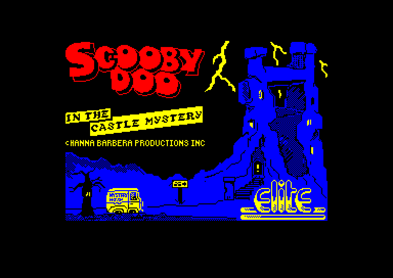 screenshot of the Amstrad CPC game Scooby Doo by GameBase CPC